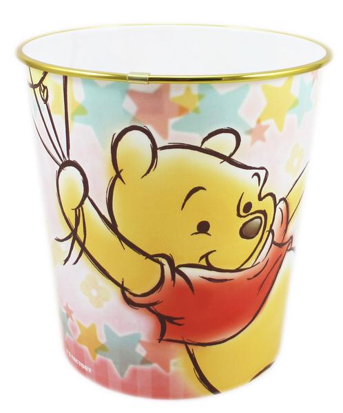 【卡漫城】 維尼熊 垃圾桶 氣球 22CM ㊣版 日版 小熊 維尼 辦公室 房間 垃圾筒 紙筒 Pooh Winnie