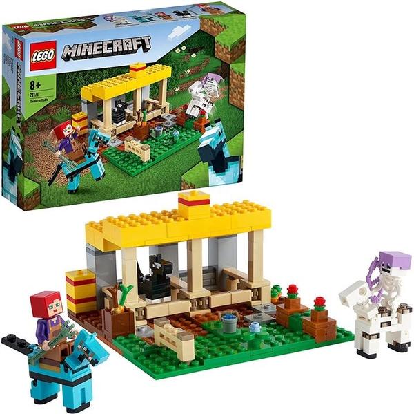 LEGO 樂高 我的世界 馬小屋 21171