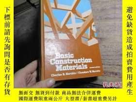 二手書博民逛書店basic罕見construction materials 精