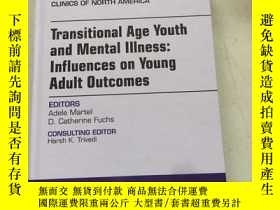 二手書博民逛書店child罕見and adolescent psychiatric clinics transitional ag