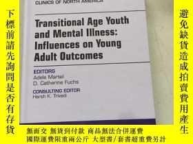 二手書博民逛書店child罕見and adolescent psychiatric clinics transitional ag