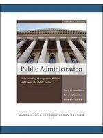 二手書博民逛書店 《Public Administration》 R2Y ISBN:0071263810│DavidH.Rosenbloom