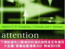 二手書博民逛書店Attention,罕見Space And ActionY464532 Glyn W. Humphreys;