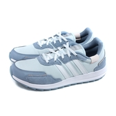 adidas RETRORUN 跑鞋 運動鞋 淺藍色 女鞋 FW9381 no862