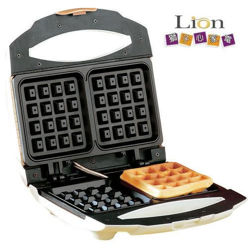 【中彰投電器】獅子心鬆餅機,LWM-116【全館刷卡分期+免運費】一次可製作兩片鬆餅~