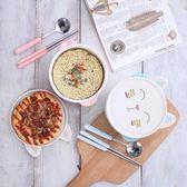 泡麵碗通雙耳陶瓷碗大碗創意日式餐具學生飯碗湯碗 交換禮物