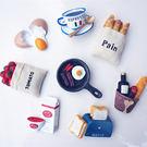 日本仿真食品冰箱磁鐵 厨房 辦公室留言貼 .創意立體造型磁鐵【魔幻甜心】