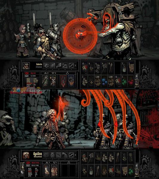 NS 暗黑地牢 五合一完整版 收藏版 中文英文版 Darkest Dungeon Switch Collector's Edition