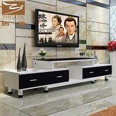 電視櫃電視柜茶幾組合現代簡約小戶型客廳簡易伸縮電視機柜迷你臥室地柜