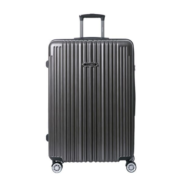 【南紡購物中心】【NaSaDen 納莎登】新無憂髮絲紋系列29吋TSA海關鎖拉鍊行李箱(米羅鈦)