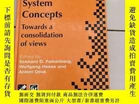 二手書博民逛書店Information罕見System Concepts: Towards a consolidation of