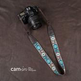 cam-in繡花系列民族風 單反數碼照相機背帶 微單攝影肩帶CAM8458        智能生活館