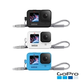 GoPro-HERO9 Black專用矽膠護套+繫繩 (ADSST)