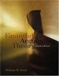 二手書博民逛書店《Financial accounting theory》 R2