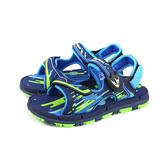 GP(Gold.Pigon) 涼鞋 運動型 藍/綠 童鞋 大童 G0701B-20 no371 19~22cm