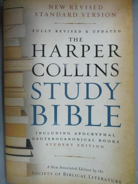 【書寶二手書T2/宗教_ZJU】The Harpercollins Study Bible_Attridge, Haro