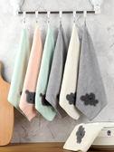 抹布 家用抹布廚房用品不易黏油洗碗擦桌手布吸水不易掉毛家務清潔毛巾 3色