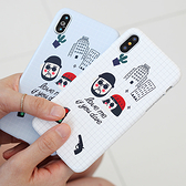 韓國 男女圖標 硬殼 手機殼│iPhone 6 6S 7 8 Plus X XS MAX XR 11 Pro LG G7 G8 V40 V50│z8424