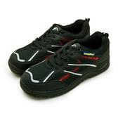 LIKA夢 GOODYEAR 固特異 透氣鋼頭防護認證安全工作鞋 驚天盾L系列 黑銀紅 83932 男