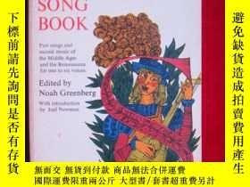 二手書博民逛書店An罕見English Song Book: Part Song