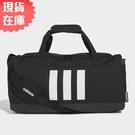 【現貨】Adidas 3-Stripes Duffel (S) 旅行袋 手提袋 健身 黑【運動世界】GE1237