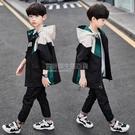 兒童2020新款男童秋裝外套洋氣沖鋒衣中大童春秋款韓版風衣潮童裝 設計師生活百貨
