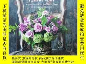 二手書博民逛書店FLOWERS罕見FOR THE HOME 插花藝術Y147597 Handy, Grayson Rizzol