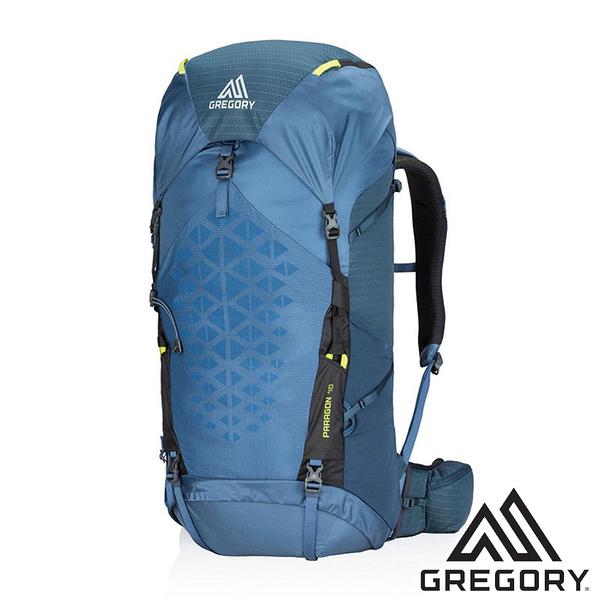 【美國 GREGORY】PARAGON登山背包 48L-M/L『1375 葛雷夫藍』G126843 登山|旅遊|戶外|後背包