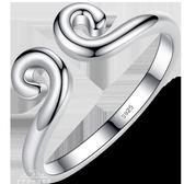 純銀緊箍咒戒指男士女情侶對戒金箍孫悟空金箍棒尾戒小指個性一對「夢娜麗莎精品館」
