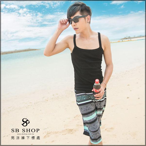 SB SHOP【普羅旺斯】ch0062 男泳褲下標處。鋼圈/春吶/泳衣/泡湯/比基尼/音樂祭/墾丁/白沙灣