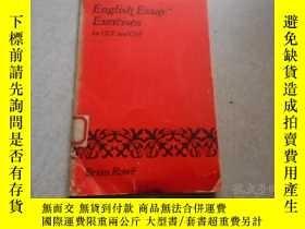 二手書博民逛書店English罕見Essay Exercises for GCE