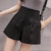 西裝短褲女高腰a字2020夏季新款薄款外穿寬鬆顯瘦休閒寬管熱褲潮