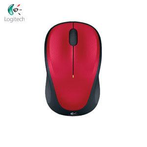 Logitech 羅技 M235 2.4G 無線滑鼠 紅