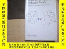 二手書博民逛書店Dictionary罕見of Modern Colloquial