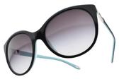 Tiffany&CO.太陽眼鏡 TF4133 80553C (黑-銀) 經典愛心款 # 金橘眼鏡