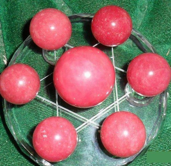 水晶球七星陣擺件