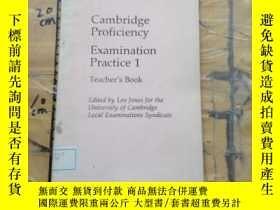 二手書博民逛書店Cambridge罕見Proficiency Examinati