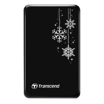 Transcend 創見 防震 1TB 2.5吋 外接硬碟-雪花限定款 StoreJet 25 A3 公司貨-三年保固