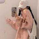 櫻田川島新款秋冬百搭加厚寬鬆工裝夾克拉鏈外套ins女裝潮 三角衣櫃