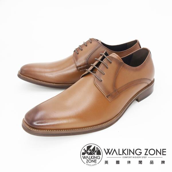 英倫素色綁帶皮鞋