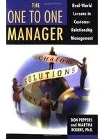 二手書《One to One Manager: Real World Lessons in Customer Relationship Management》 R2Y ISBN:0385494084