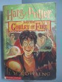 【書寶二手書T9/原文小說_ISZ】Harry Potter and the Goblet of Fire(Book 4