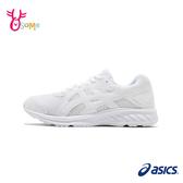 【全館超商499免運】ASICS慢跑鞋 女鞋 JOLT 2 跑步鞋 透氣運動鞋 全白學生鞋 亞瑟士 B9176#白色