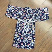 85折兒童和服 純棉日式睡袍 家居服浴衣浴袍 日本睡衣開學季