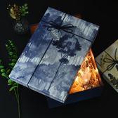 禮盒包裝盒空盒子創意大理石紋禮品盒精美生日大碼禮物盒子