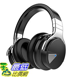 [106美國直購] 耳機 Cowin E-7 Active Noise Cancelling B019U00D7K Bluetooth Over-ear Headphones - Black