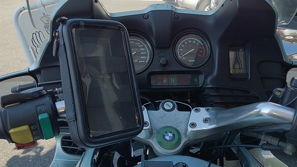 kymco MANY125 V2光陽後視鏡導航座機車手機架摩托車環島摩托車導航架重型機車環島手機支架