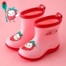 夏季兒童雨靴水鞋防滑卡通男女童1-3-6歲中小童加絨幼兒寶寶雨鞋 【快速出貨】