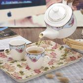 陶瓷家用茶壺套裝婚慶茶具杯具大容量耐熱泡茶壺冷水壺涼水壺水杯 igo 范思蓮恩