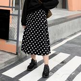 中大尺碼 大波點針織長裙 - 適XL~4L《 69167 》CC-GIRL
